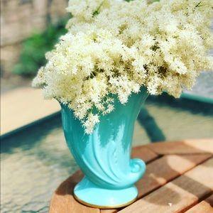 Vintage unique porcelain vase